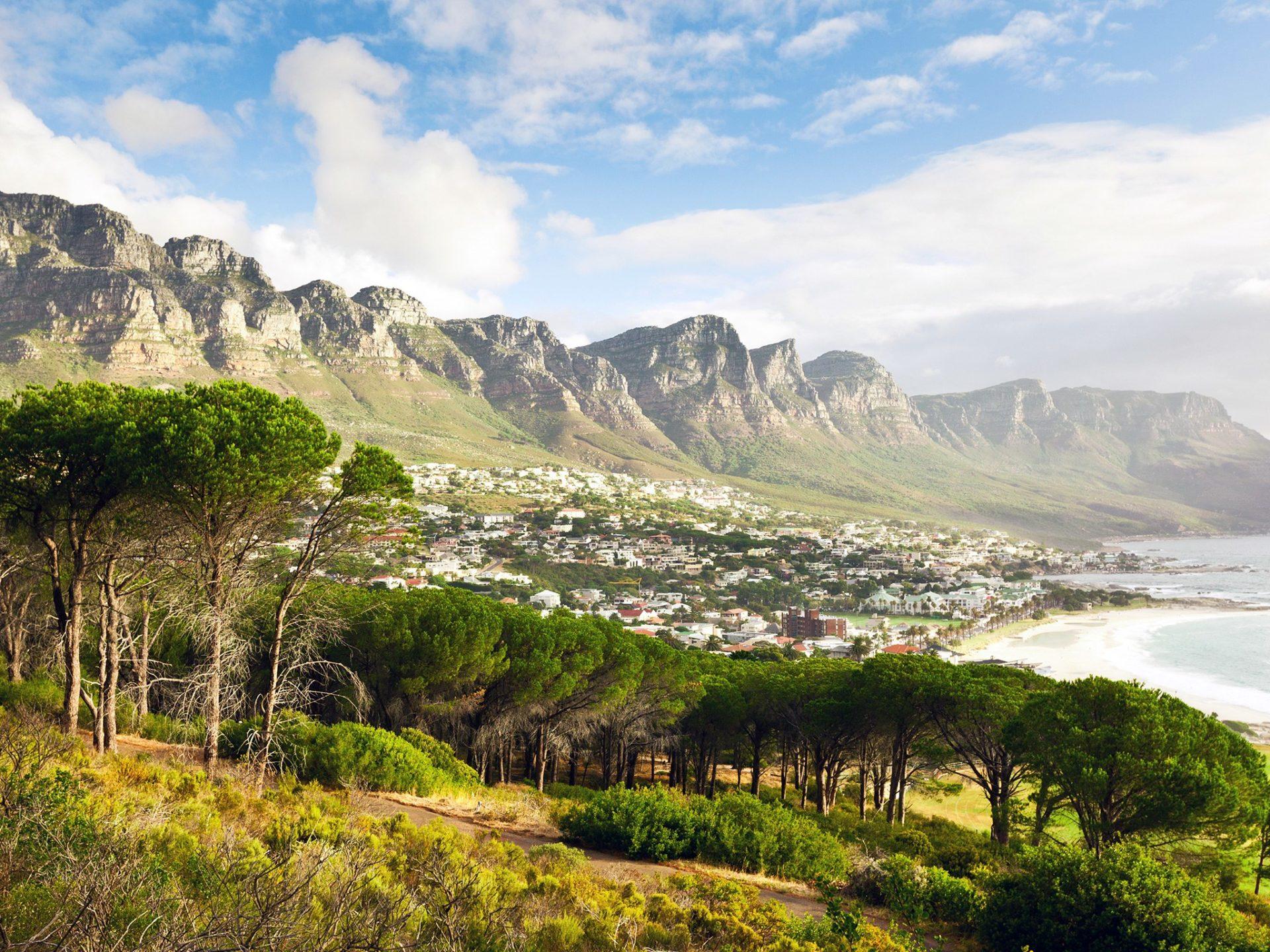 18. Столовая гора, ЮАР.