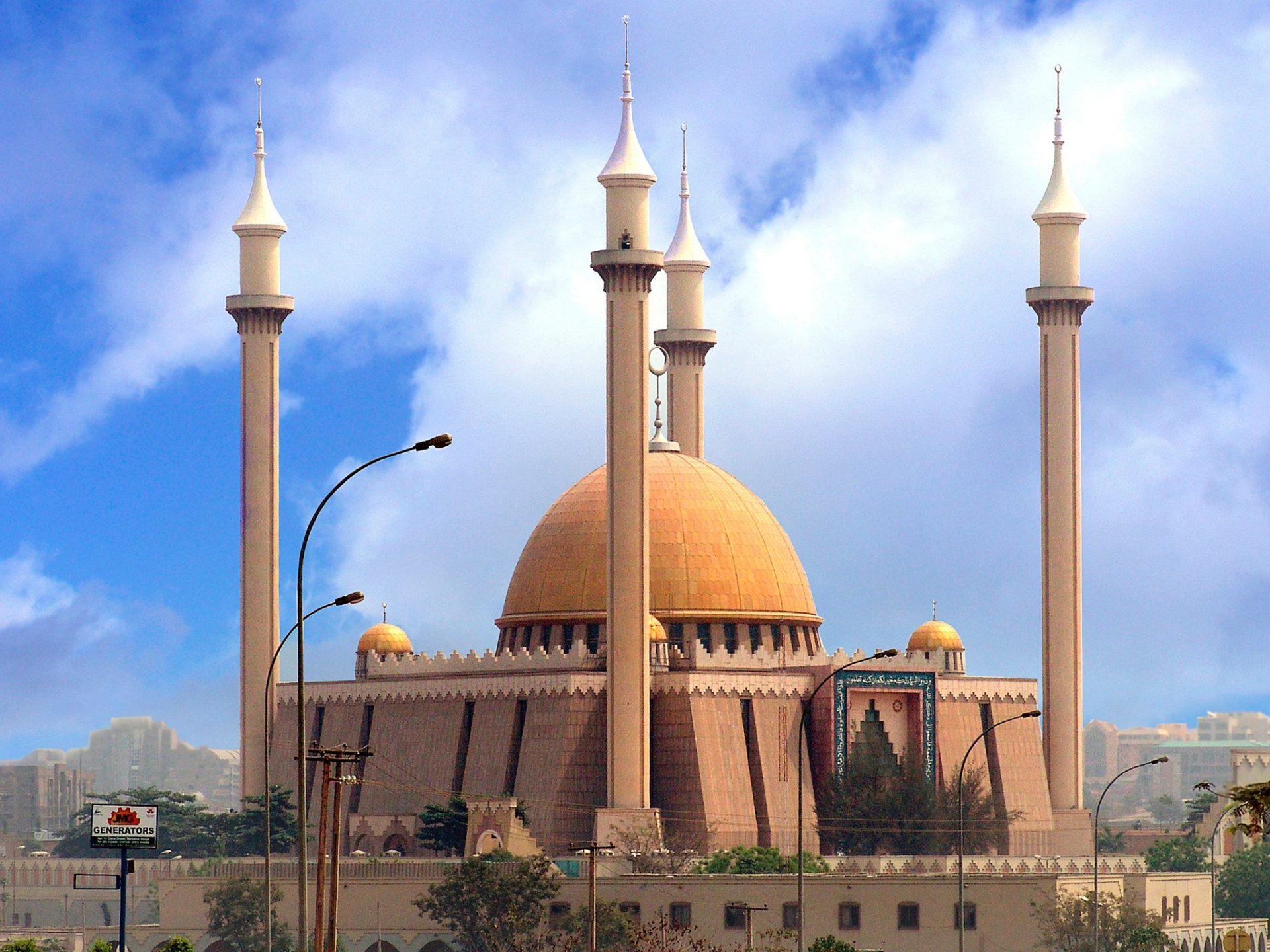 8. Национальная мечеть Абуджа, Нигерия.