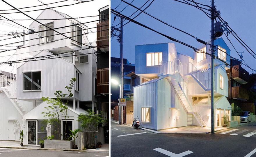 9. Жилой дом в Токио.