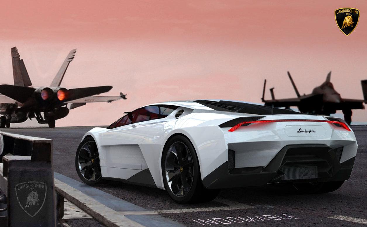 1. Lamborghini Indomable.
