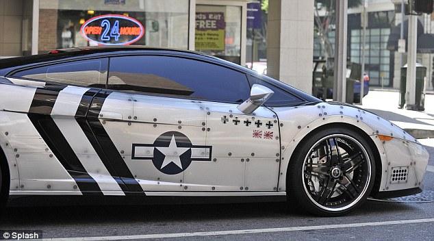 5. Lamborghini Gallardo WWII Bomber.