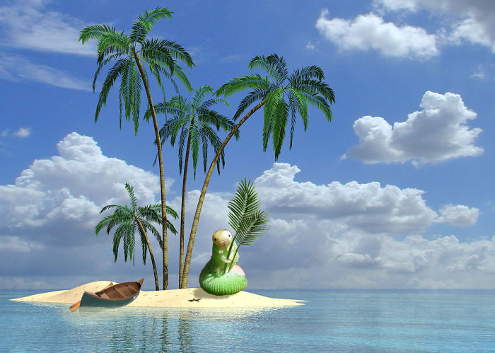 8. Отдых на островах.