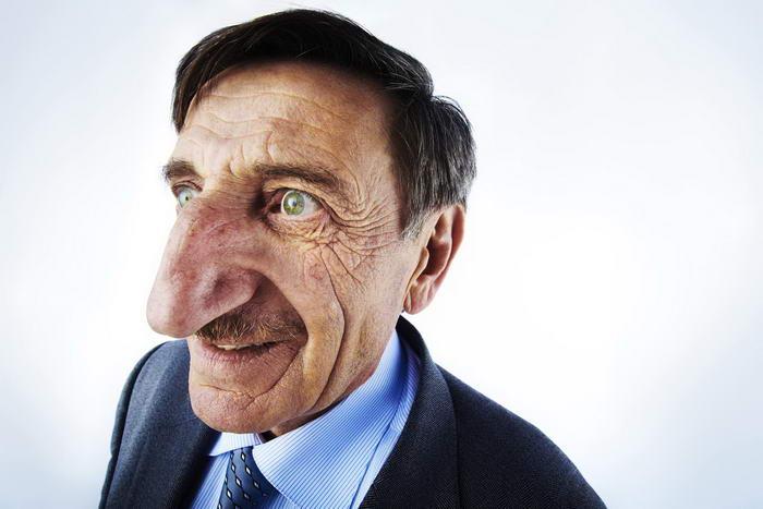 5. Самый большой нос.