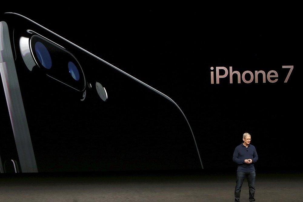 презентация новый айфон 7 фото