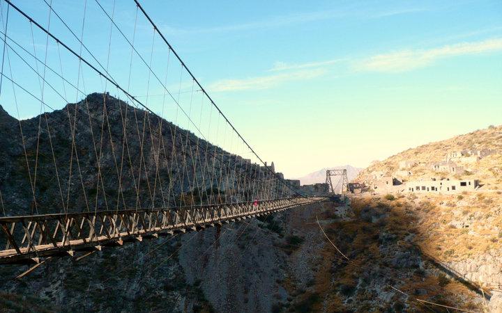 4. Мост Пуэнте-де-Охуэла, Мексика.
