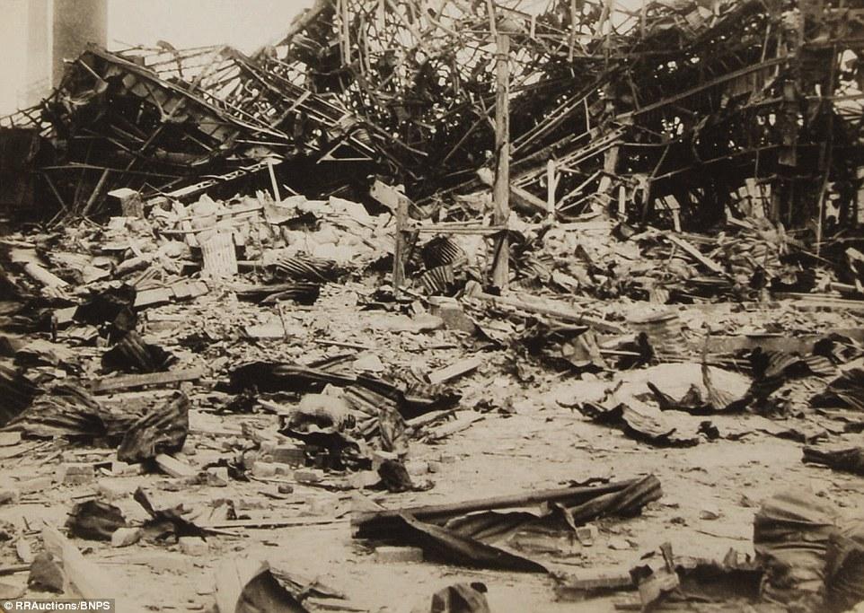 13. Многие из фотографий Ямахата были использованы в японских изданиях всего через несколько недель после взрыва.