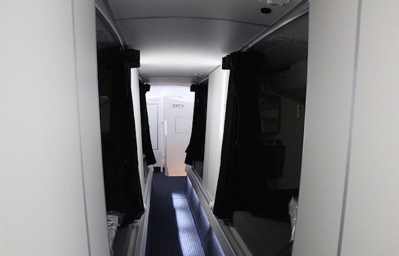 13. В Boeing 777 есть двухъярусные кровати.