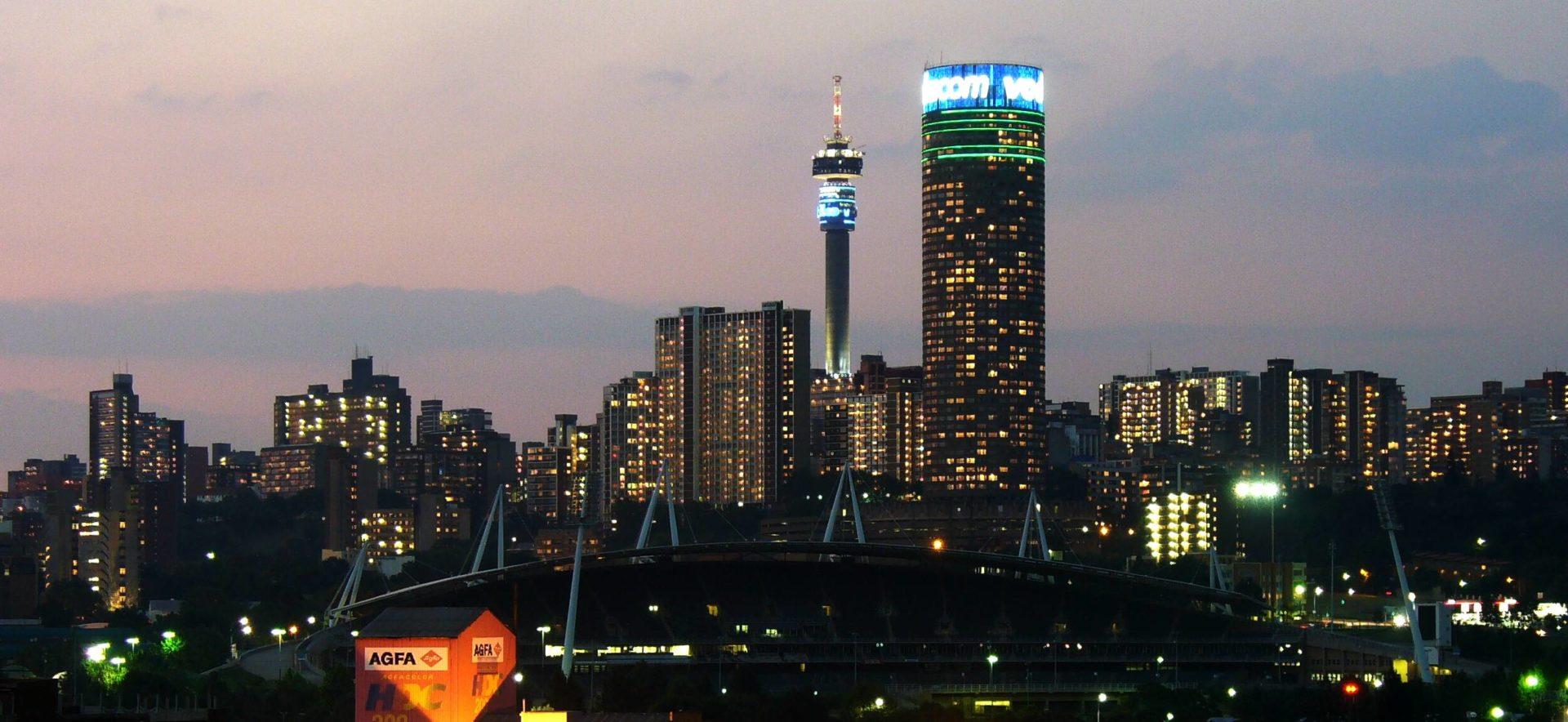 1. Йоханнесбург.