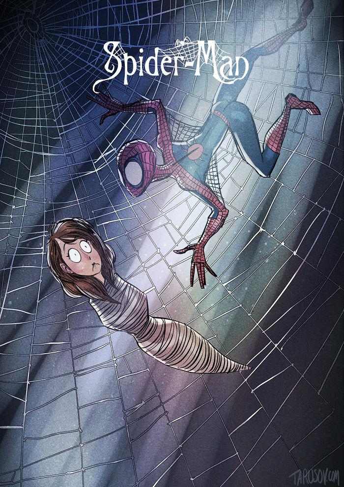 4. Человек-паук.