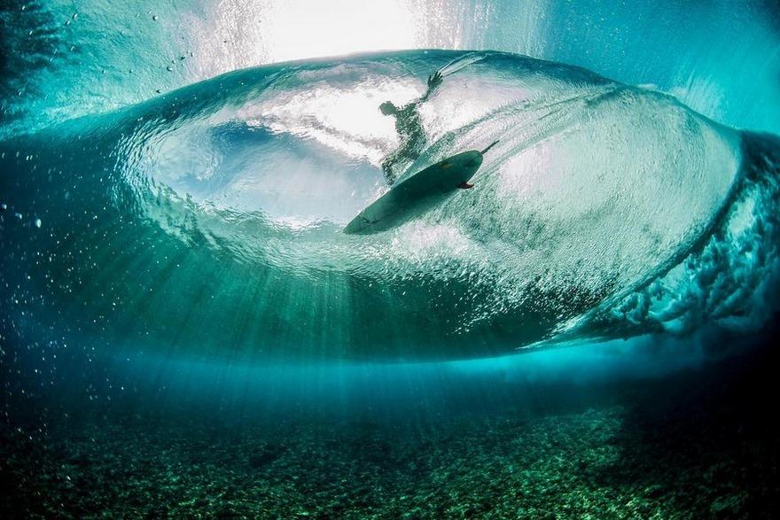 9. Теахупу, Французская Полинезия. Автор - Ben Thouard.
