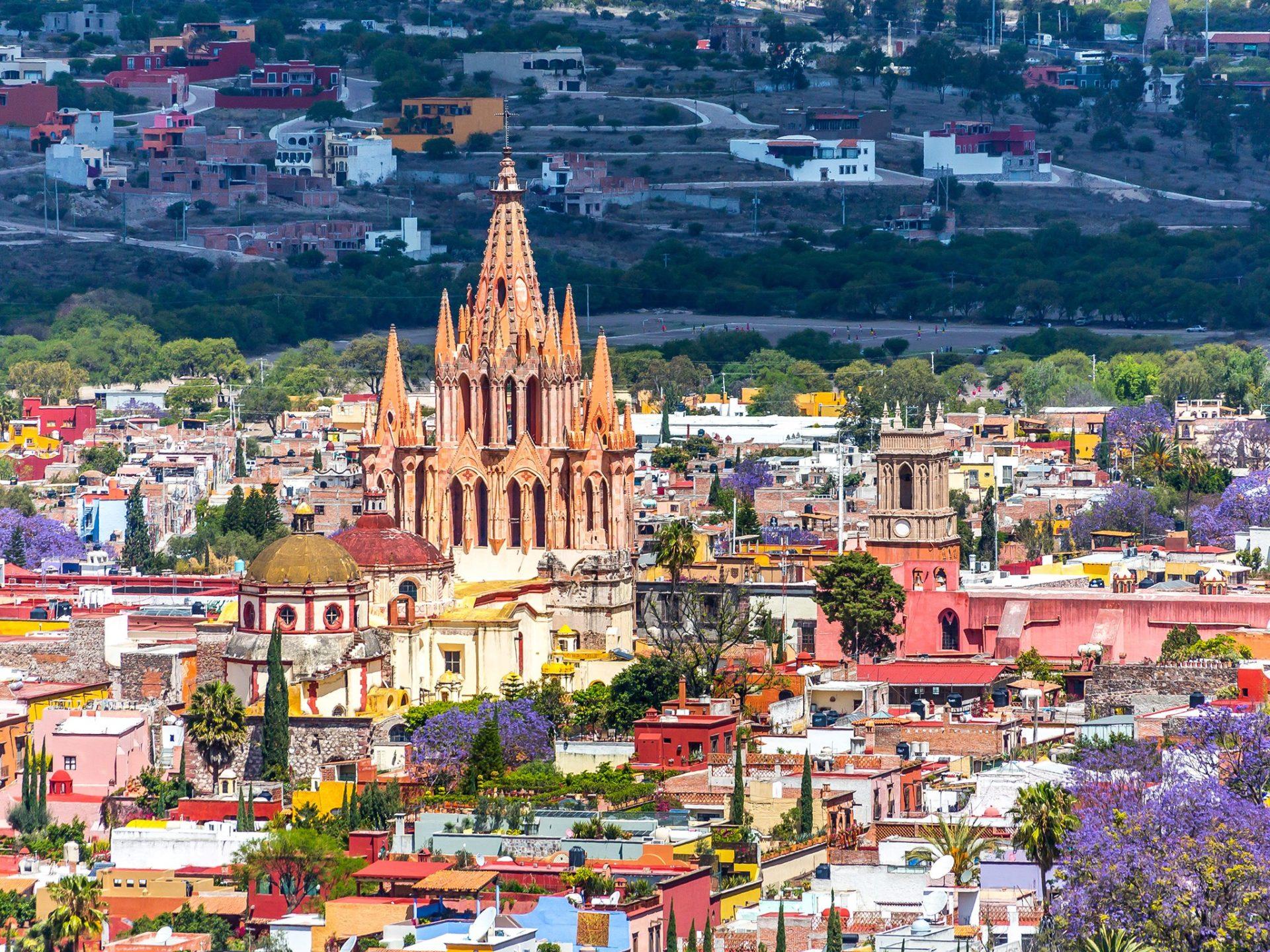 5. Сан-Мигель-де-Альенде, Мексика.