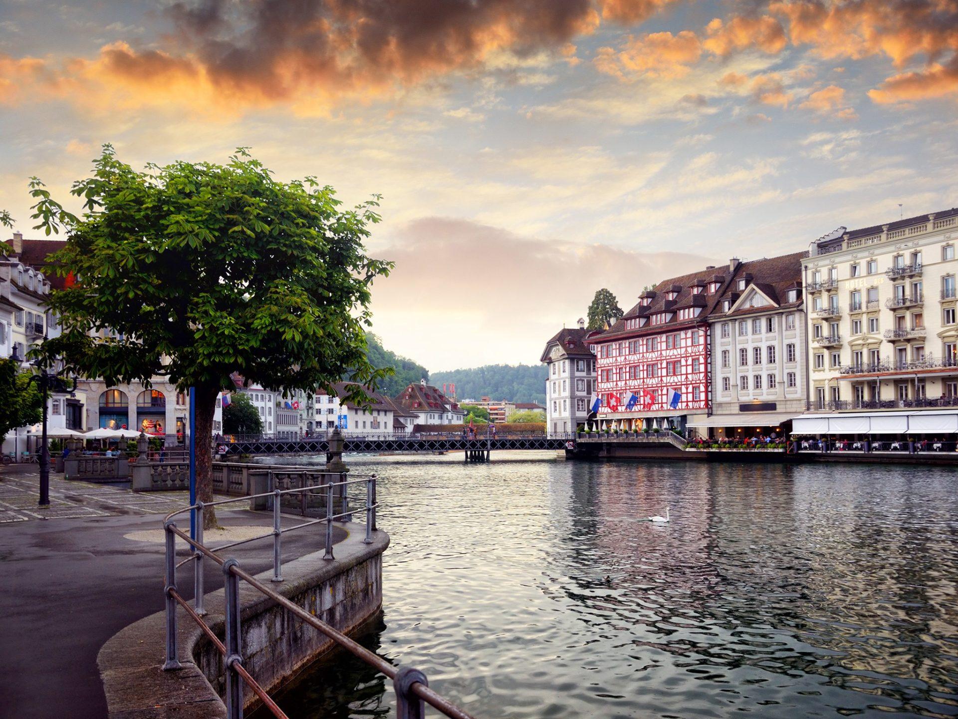 4. Люцерн, Швейцария.