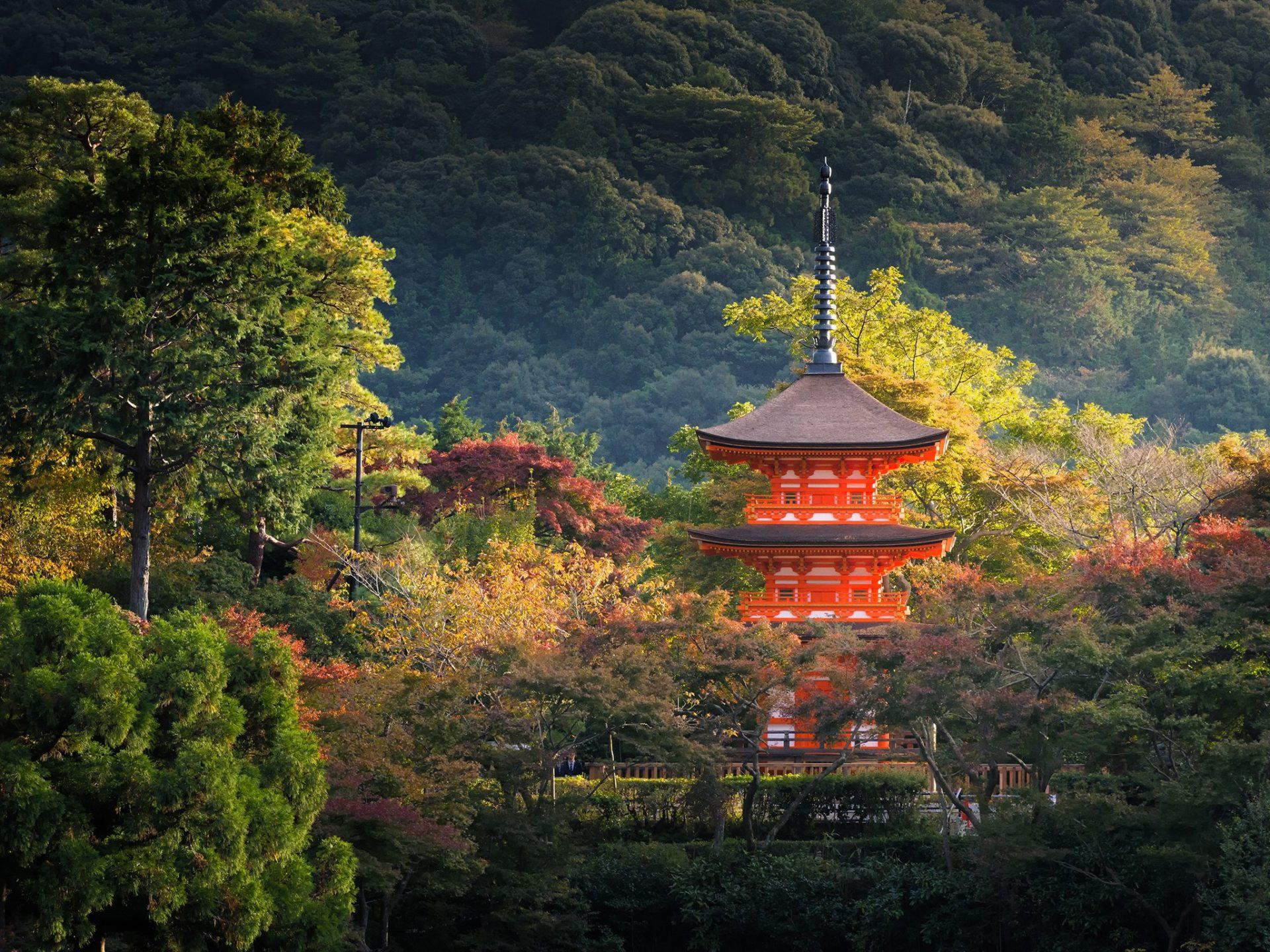 2. Киото, Япония.