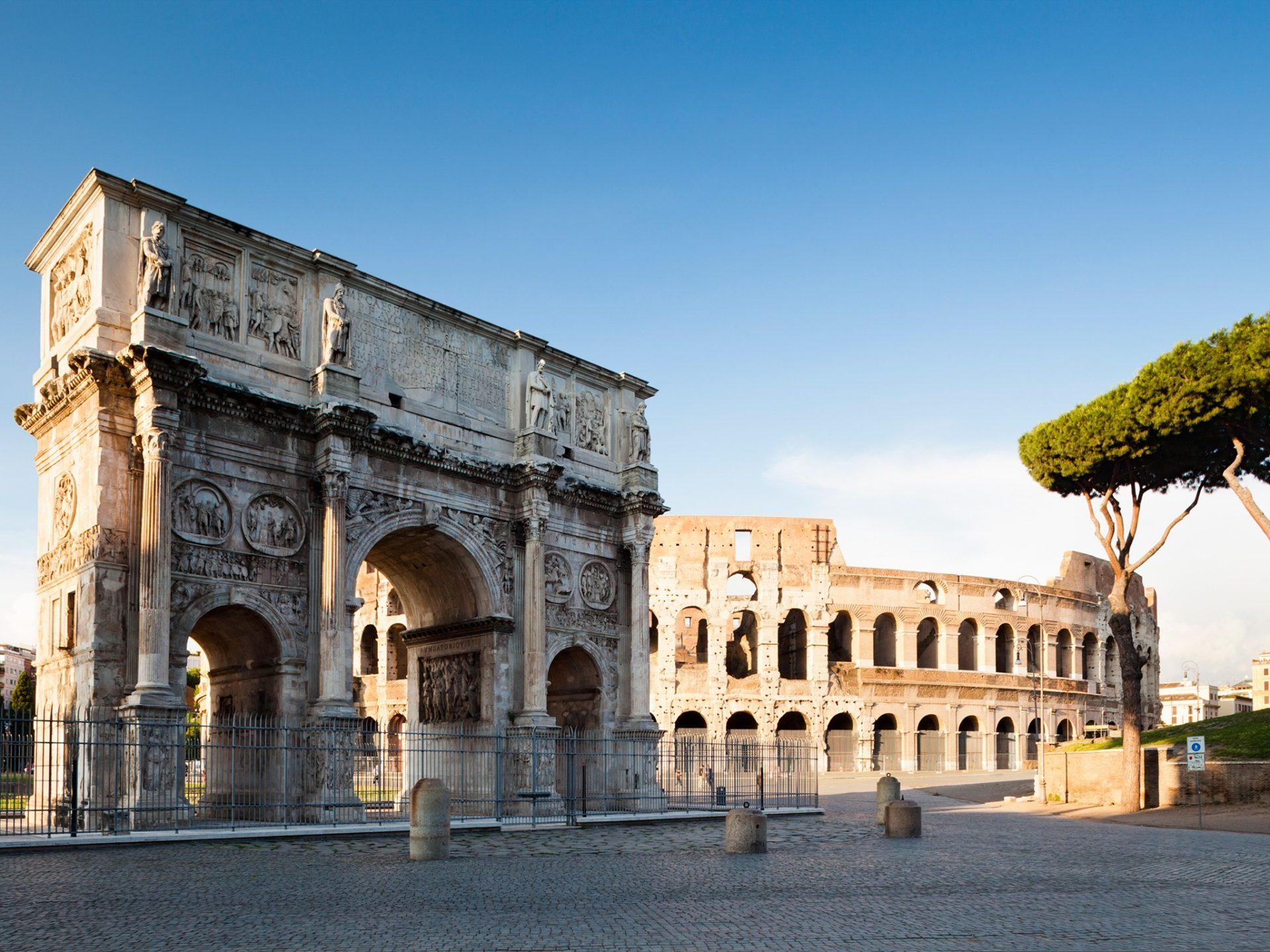 15. Рим, Италия.