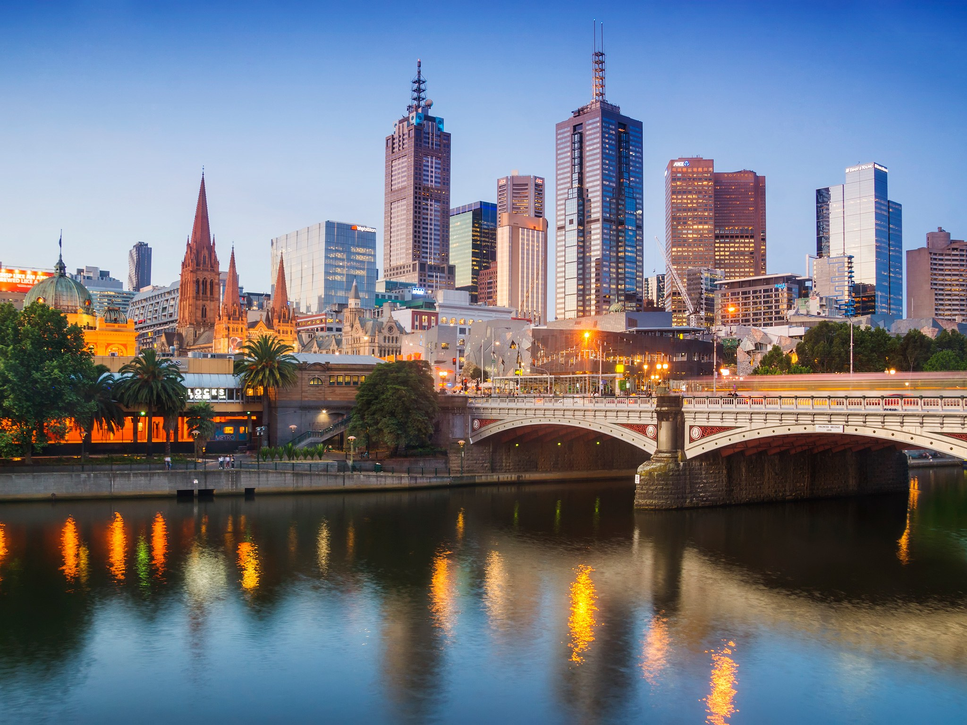 14. Мельбурн, Австралия.