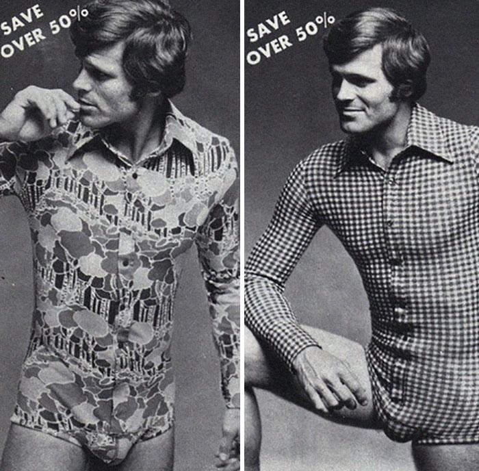 10. Женскими боди сегодня никого не удивить. В 70-е боди носили и мужчины.
