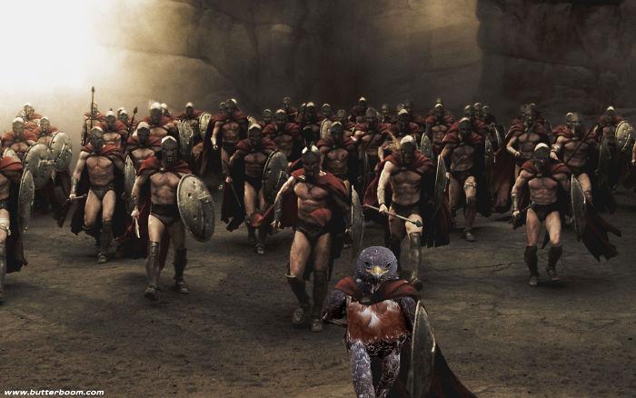 8. 301-й спартанец.