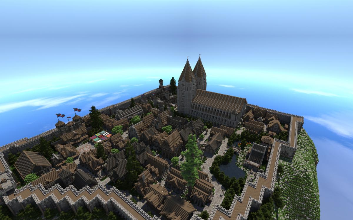 20. А замки – массивные стены, защищающие от атак.