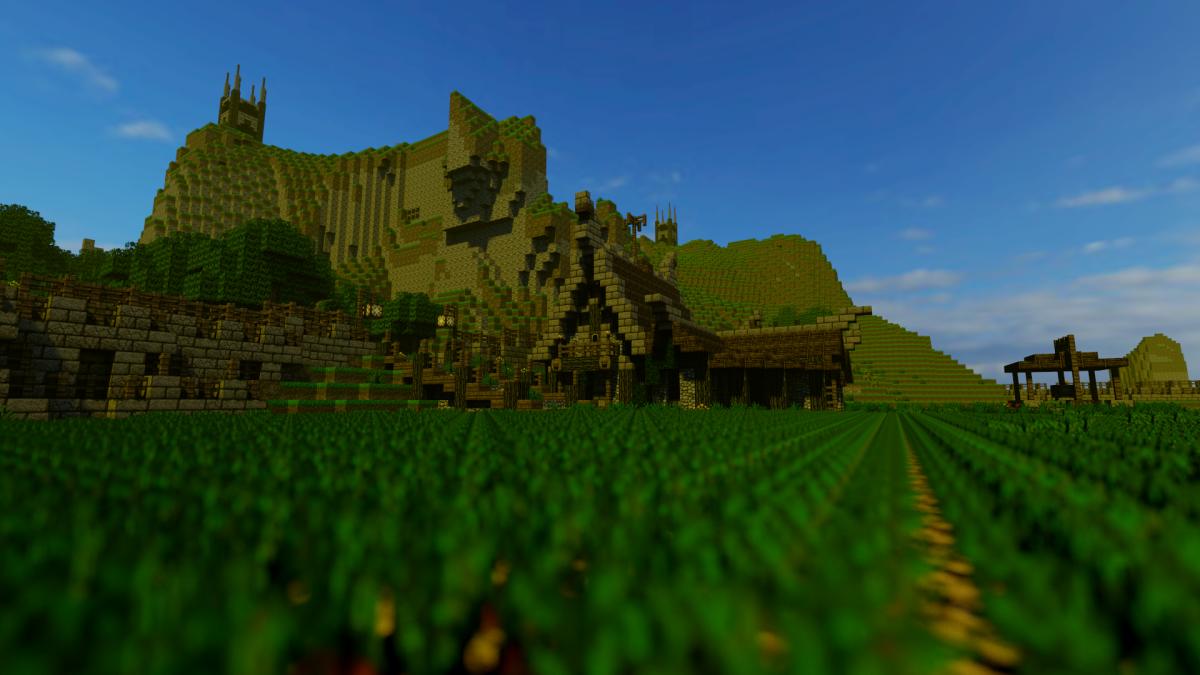 9. Горы, поля, строения. Все это присутствует в королевстве.