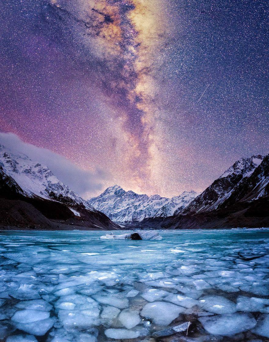 2. Гора Кука – самая высокая гора в Новой Зеландии.