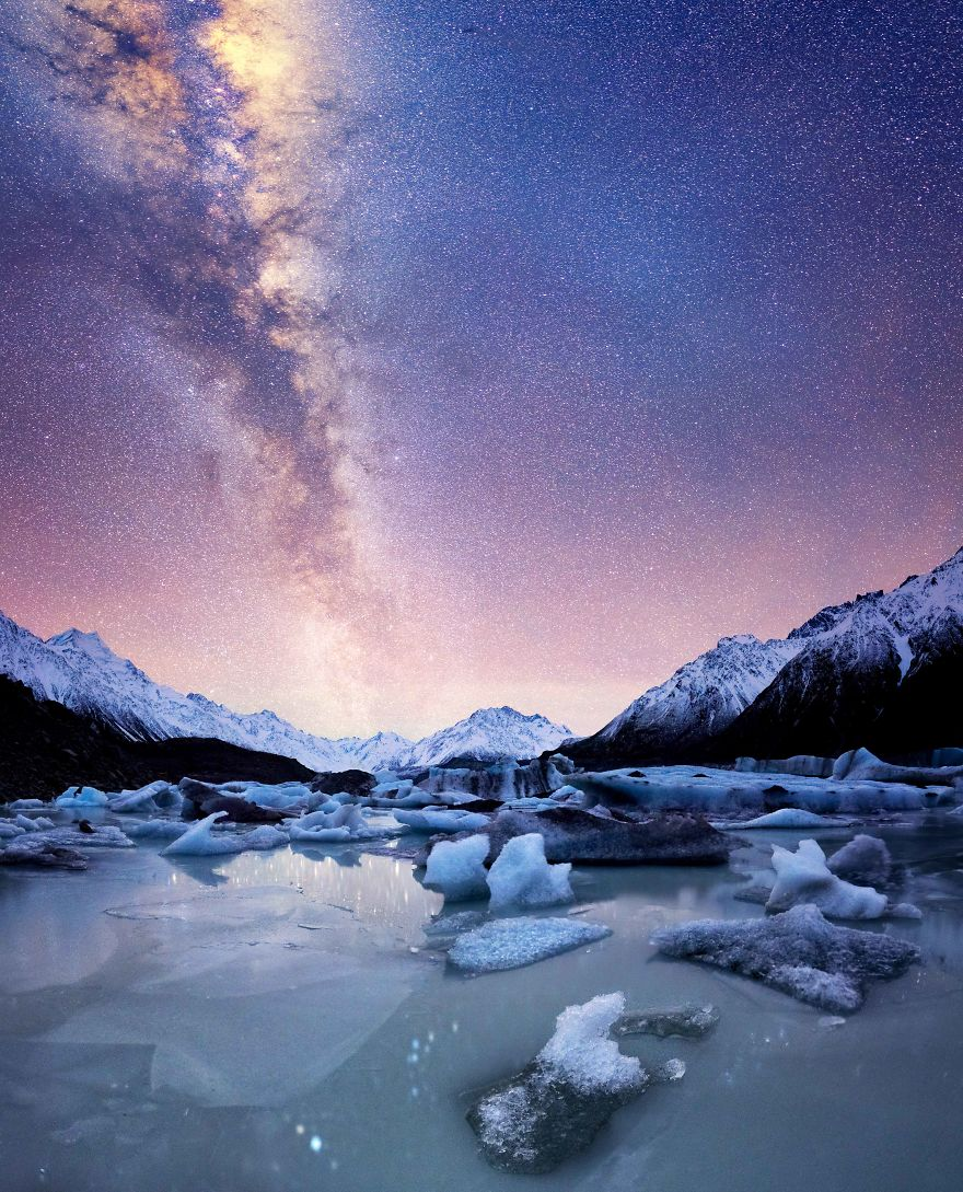 6. Ледник Тасмана.