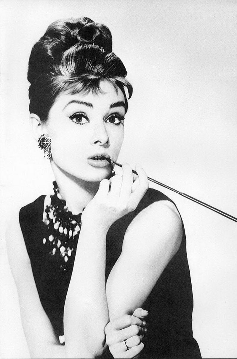 1. Одри Хепберн, 1961 год.