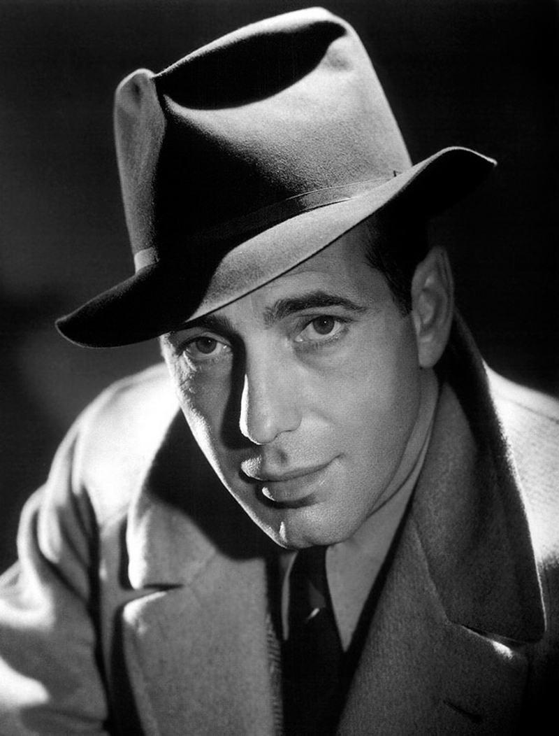 3. Хамфри Богарт, 1939 год.