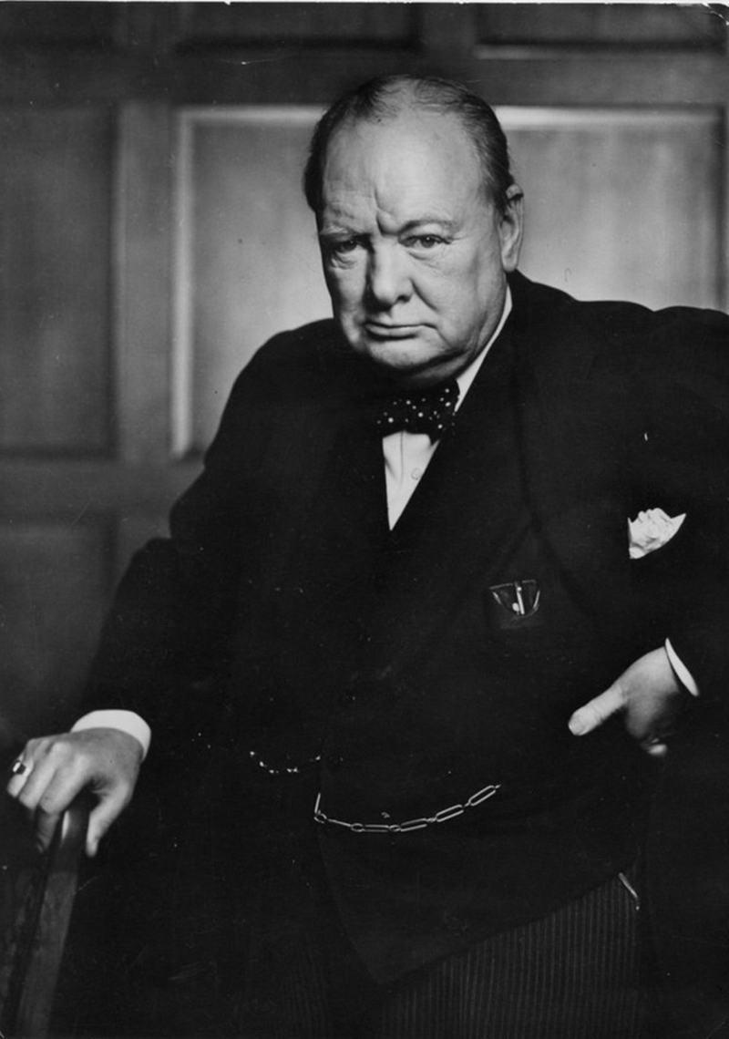 5. Уинстон, Черчилль, 1941 год.