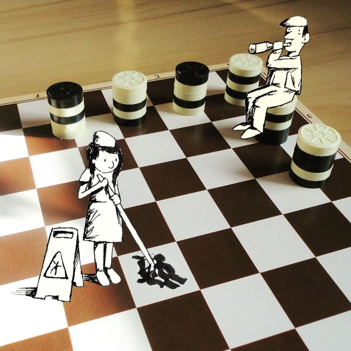 9. Шахматный бар.