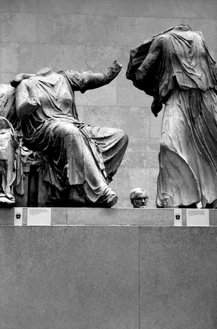 19. Голова статуи.