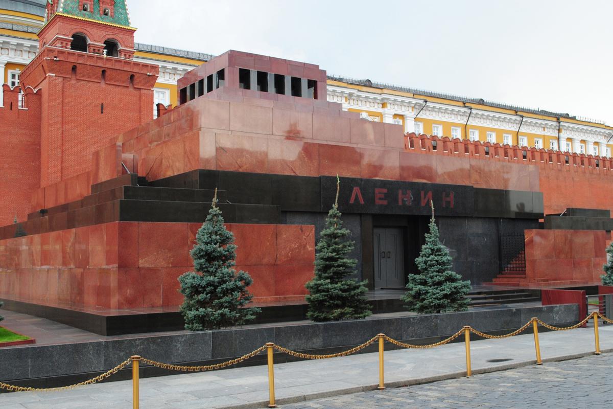 6. Мавзолей Ленина.