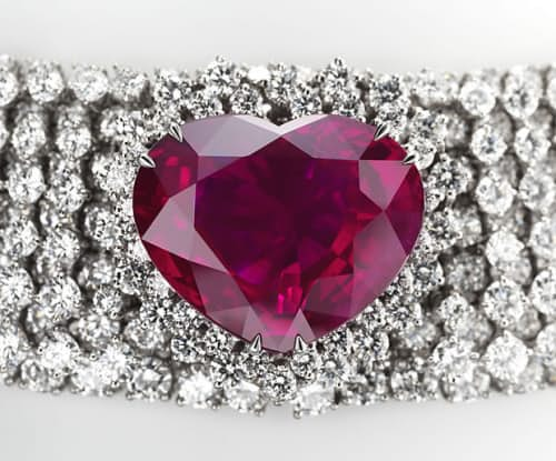 3. Рубиновое ожерелье «Сердце королевства». $14 млн.