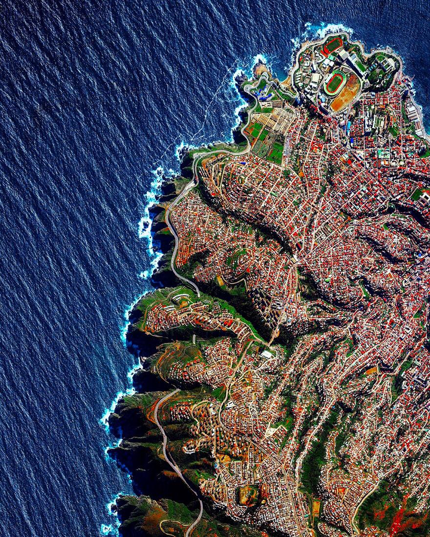 1. Вальпараисо, Чили.