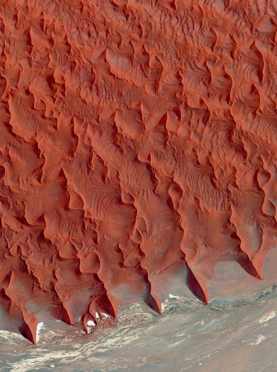 6. Пустыня Намиб, Намибия.