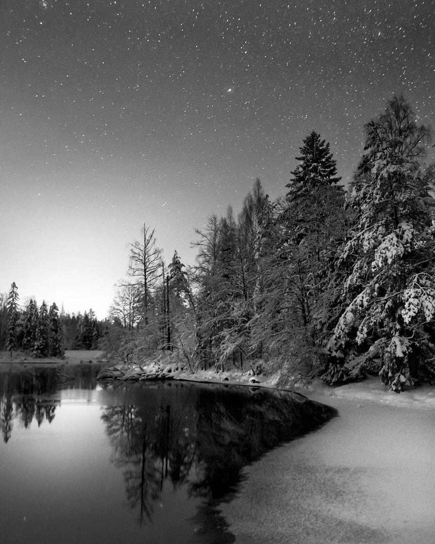18. Зимняя ночь.