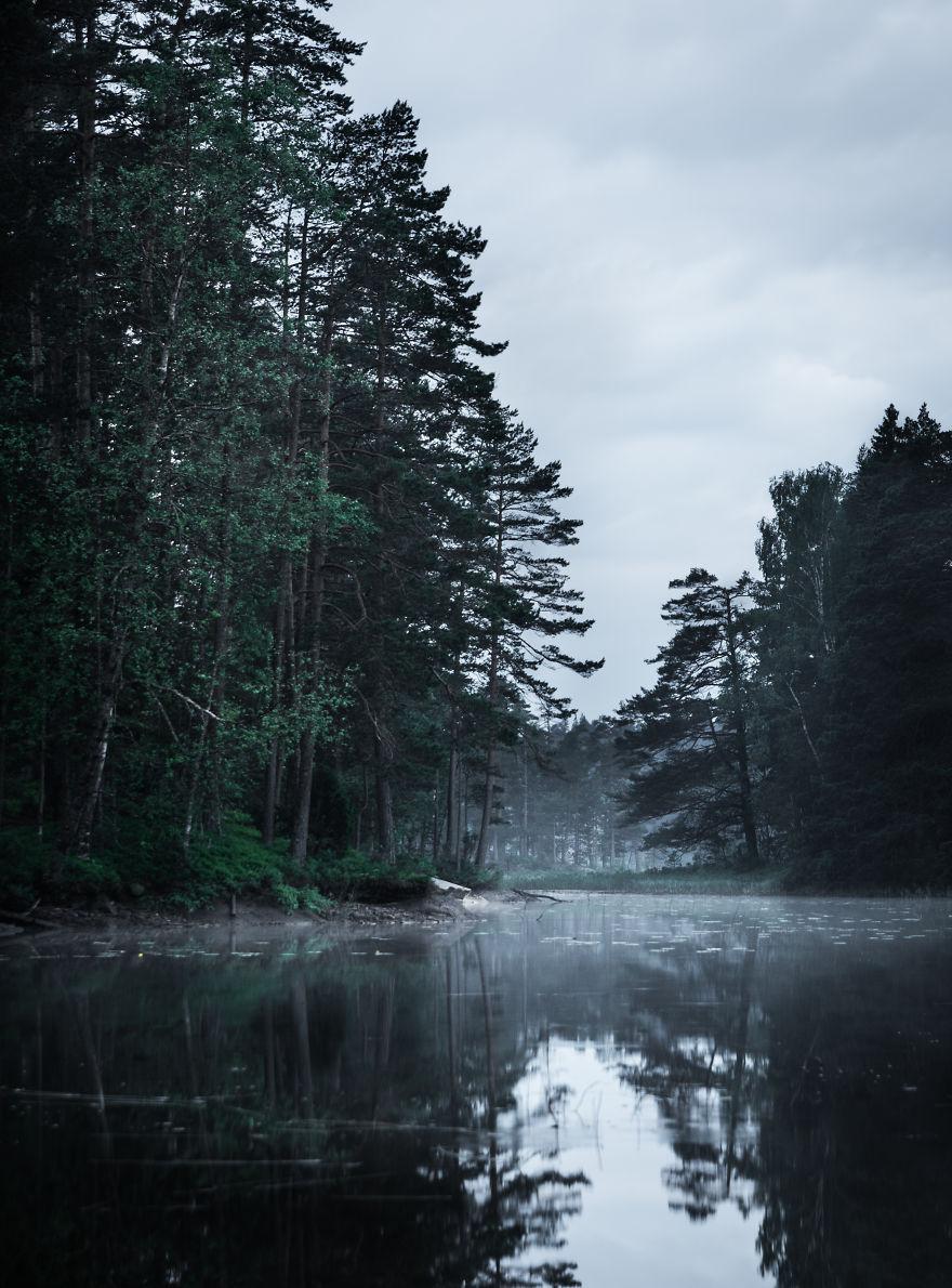 9. Вечерний туман.