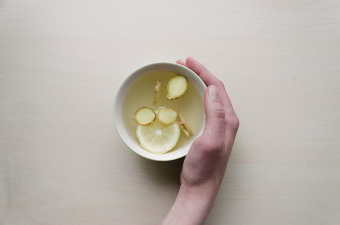 1. Имбирный чай.