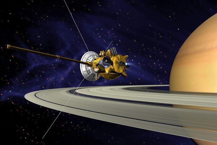 7. Межпланетная станция Кассини.