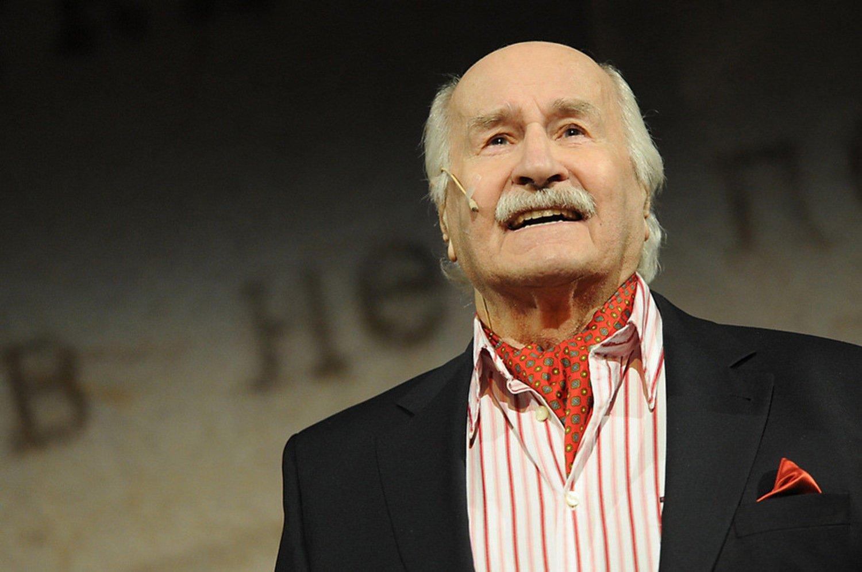 9. Владимир Зельдин - советский и российский актёр театра и кино. Умер 31 октября 2016.