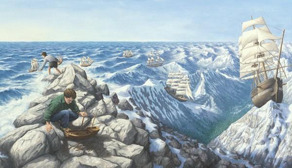 5. Плавание в горах.