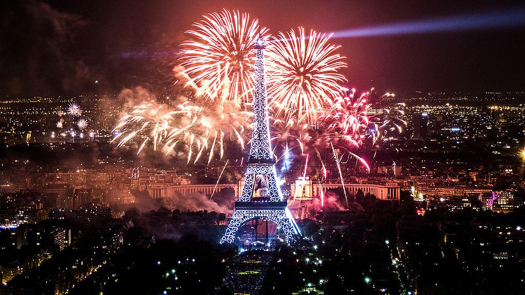 4. Париж.