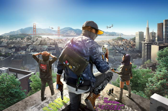 3. Watch Dogs 2.