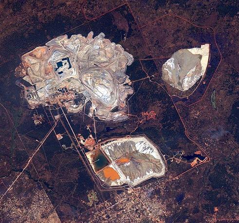 15. Медный рудник в Кансанши, Замбия.