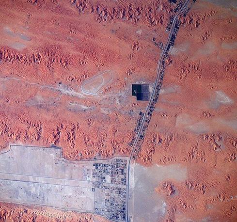 17. Граница ОАЭ и Омана.