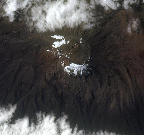 18. Вулкан Килиманджаро, Танзания.