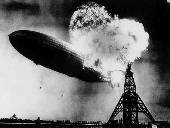 11. Крушение Гинденбурга, Сэм Шейр, 1937.