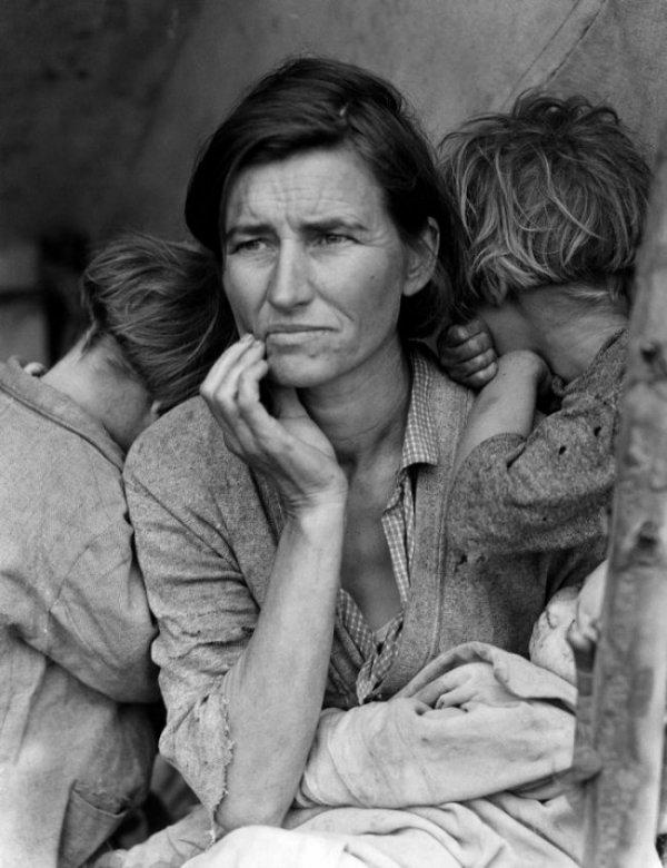 13. Мать переселенцев, Доротея Ланж, 1936.