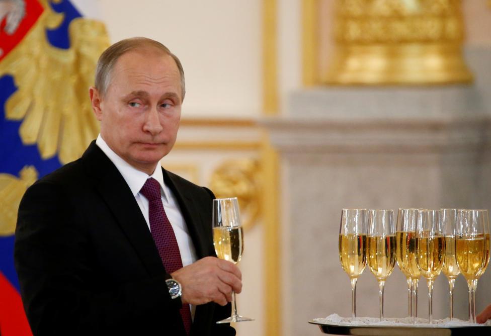 1. Первое место занял президент России Владимир Путин, став самой влиятельной персоной в мире.