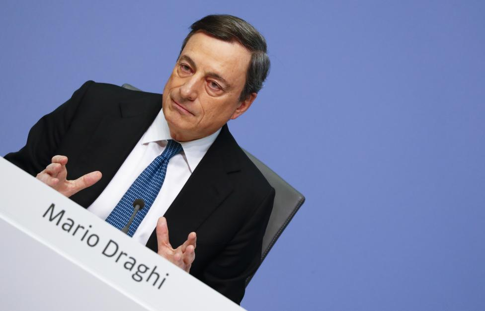 11. Президент Европейского центрального банка Марио Драги.