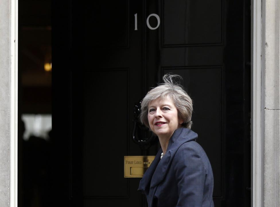 13. Премьер-министр Великобритании Тереза Мэй.